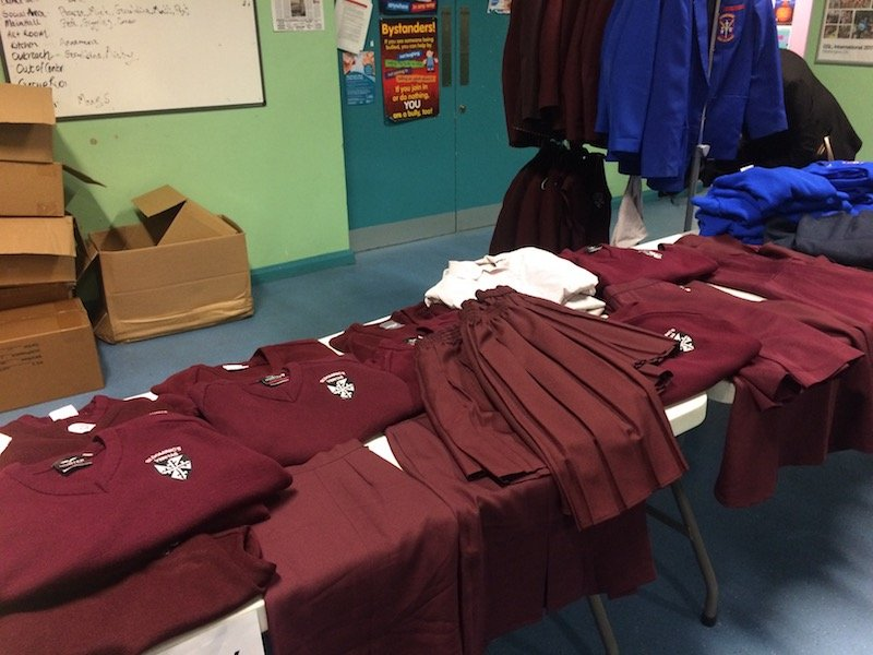 West Belfast School Uniform Project